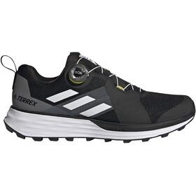 adidas TERREX Two Boa Trail Running Shoes Men, negro/gris